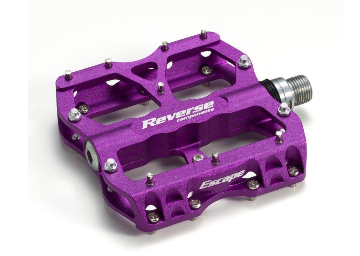 REVERSE Escape Platform Pedals   Purple
