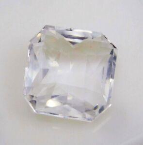 Natural-Certified-Princess-Cut-7-Ct-White-Ceylon-Sapphire-Loose-Gemstone