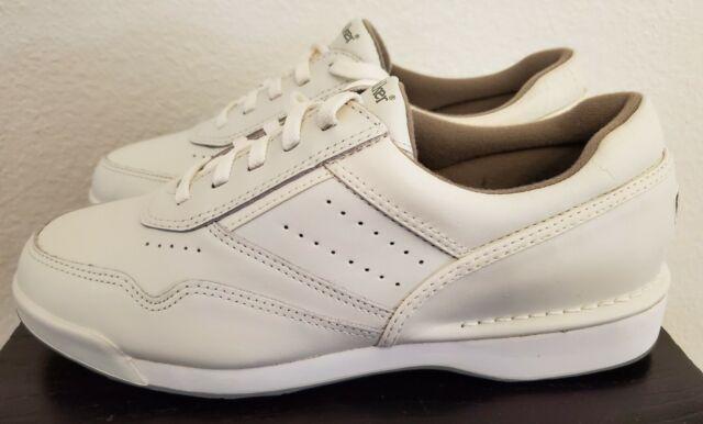 Rockport Prowalker M7104W White Leather