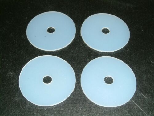 4 Nylon Washers 48.2mm O//D X 8mm I//D X 1.6mm Thk