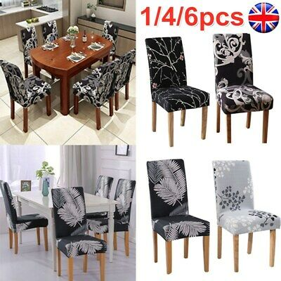 Home Furniture Diy 1 4 6x Dining, Dining Room Seat Covers Uk