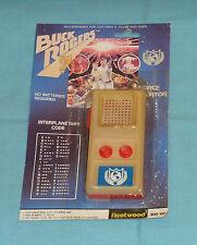 vintage Fleetwood BUCK ROGERS SPACE COMMUNICATOR MOC rack toy