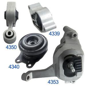 Set-of-4-Engine-Mount-Transmission-for-2008-2012-Nissan-Altima-2-5L-Auto-CVT