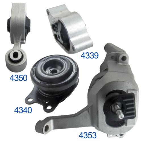 Set of 4 Engine Mount Transmission for 2008-2012 Nissan Altima 2.5L Auto CVT