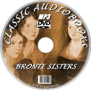 CHARLOTTE-EMILY-amp-ANNE-BRONTE-CLASSIC-NOVELS-amp-POEMS-MP3-AUDIOBOOKS-PC-DVD-NEW