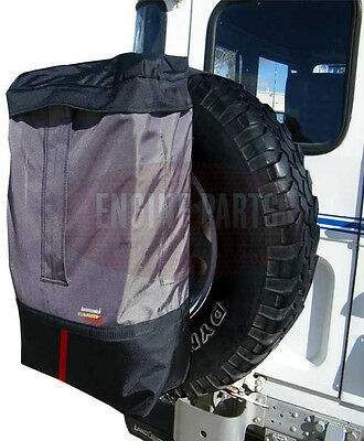 4WD STORAGE On Spare Wheel BACK PACK 4x4 Instant 35lt Stowage SNOW Prado Pajero
