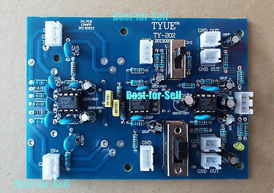 ± 12V~15VDC Stereo Balanced//Unbalanced Signal Input BTL Preamp Board Gain Volume