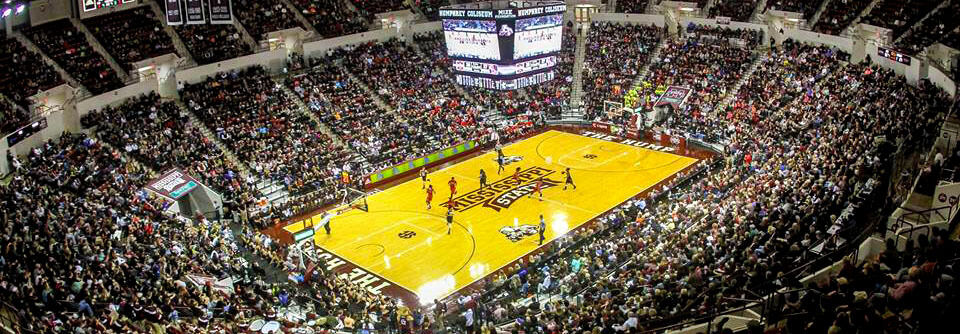 Stephen F Austin State Lumberjacks at Mississippi State Bulldogs Basketball