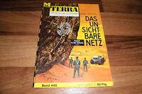 TERRA   # 449 -- UNSICHTBARE NETZ // Kampf in der Galaxis  1 / Hans Kneifel 1966