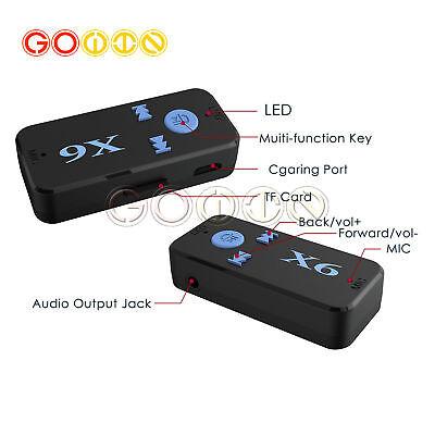 Mini Wireless Bluetooth Car Kit 3.5mm Dongle Jack Aux Audio Receiver Adapter BP