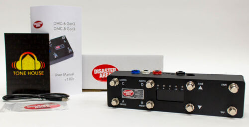 Disaster Area Designs DMC-8 Gen3 Compact MIDI Controller for Pedalboards