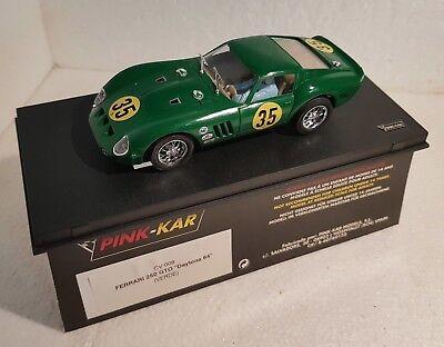 Elektrisches Spielzeug Lovely Qq Pink Kar Cv009 Ferrari 250 Gto Daytona '64 # 35 Grün Green Plastic Schachtel Delicacies Loved By All