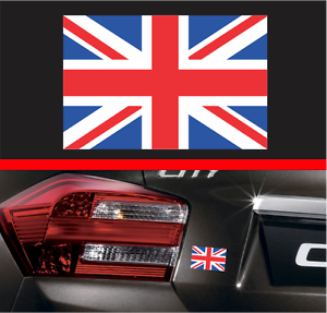 Union Jack UK Flag Vinyl Decal Sticker GB British Car Helmet - Vinyl decals for cars uk
