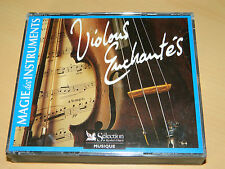 lot 3 CD violons enchantés MAGIE des INSTRUMENTS violin