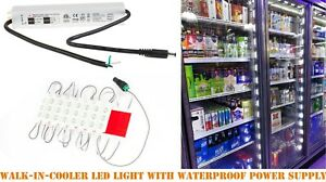10ft walk in cooler fridge LED light with UL Listed waterproof power supply