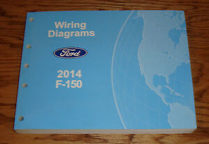 Original 2014 Ford F-150 Wiring Diagrams Manual 14 | eBay