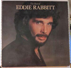 EDDIE RABBITT The Best Of Vinyl LP Elektra 1979 Allied Records Pressing 6E235