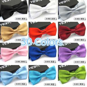 Wedding-Party-Mens-Classic-Tuxedo-Bowtie-Neckwear-Adjustable-Bow-Tie-Necktie-New