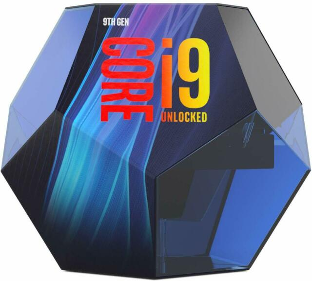 Intel Core i9-9900K Desktop Processor - 8 cores & 16 threads - Up to 5 GHz Turbo