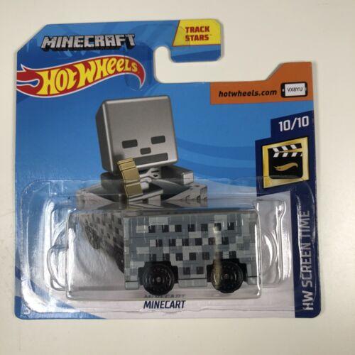 Hot Wheels 2019 25//250 Minecraft Minecart HW écran Temps 10//10 Mojang