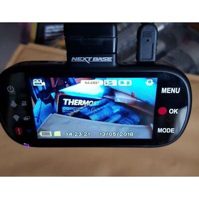 """Nextbase 312GW Dash Cam 2.7"""" LED Car Recorder Night Vision GPS Wi-Fi ~ 32GB Card"""