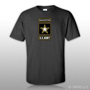 Hija-del-Ejercito-T-Shirt-Tee-Shirt-Ranger-EE-UU-nos-U-S