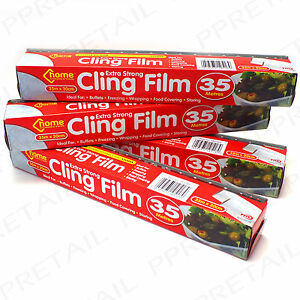 4-ROLLS-LARGE-CLING-FILM-300mm-Wide-x-35M-CUTTER-Long-Bulk-Kitchen-Food-Cover