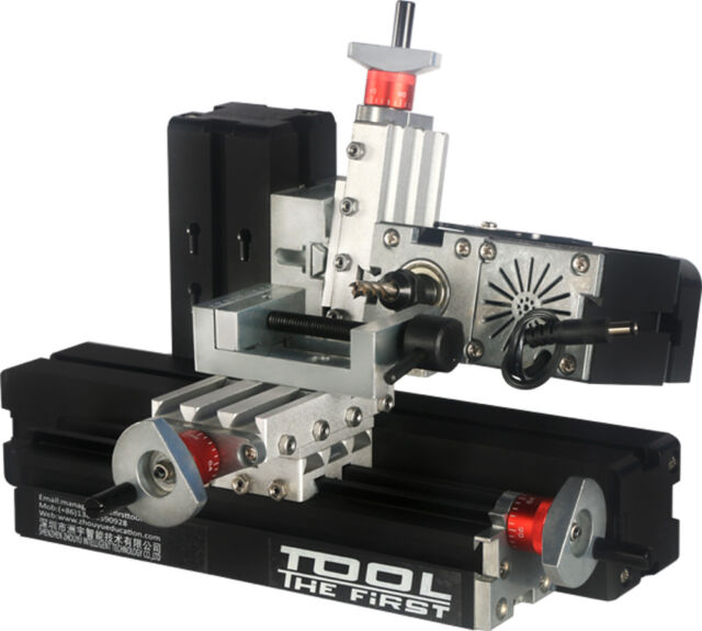 Zhouyu 60w Mini Metal Horizontal Milling Machine Diy Woodworking