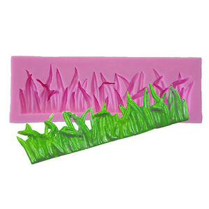 Silicone-Mould-Grass-Fondant-Cake-Mold-Chocolate-Clay-Sugarcraft-Lace-Pastry-Top
