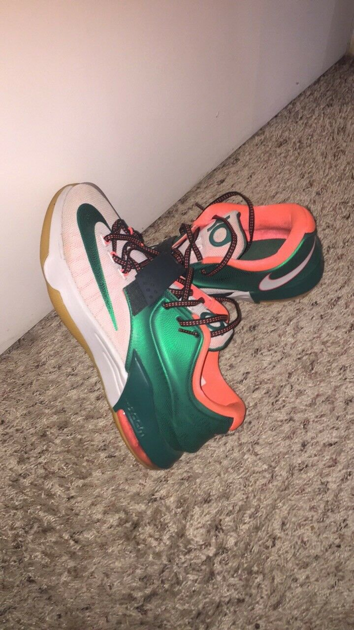 Nike KD 7 VII Easy Money Kevin Durant Sneakers Size 9.5 653996-330 Basketball