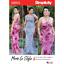 Patrones de costura simplicidad vestidos de verano de 19