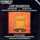 Segerstam Kontra Quartet Danish Nat L Radio so Thoughts 1989 CD