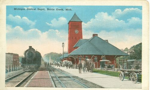 BATTLE CREEK,MICHIGANMICHIGAN CENTRAL DEPOTTRAINWBMICHB#2