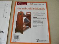 Arts And Crafts Book Rack