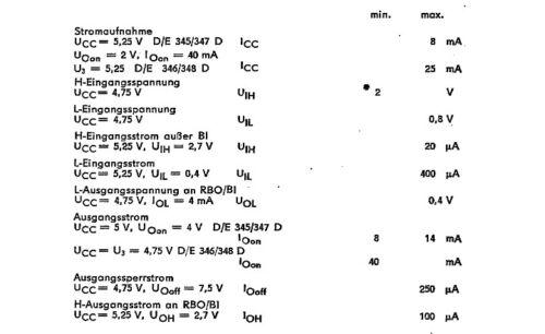 D347D 1 Piezas Decodificador BCD a 7 segmentos//controlador 74LS247 IC SN74LS247