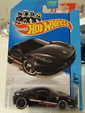 Hot Wheels Ferrari 458 Italia HW City Black