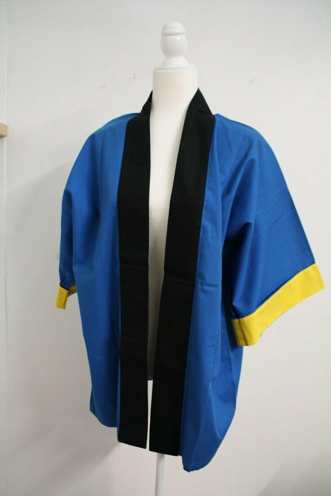Japanese Cotton Kimono Jacket Unisex Jacket M Size Good for Cosplay