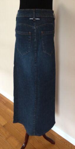 Jean Paul Galtier (JPG) Maxi  Denim Skirt Size 8