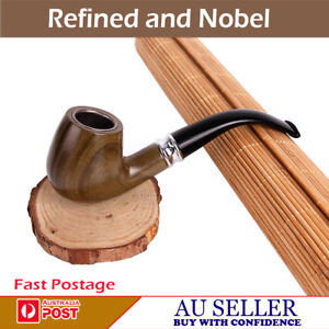 NEW BEST QUALITY DURABLE RING TOBACCO SMOKING SMOKE WOODEN LOOK  PIPE DESIGN-2