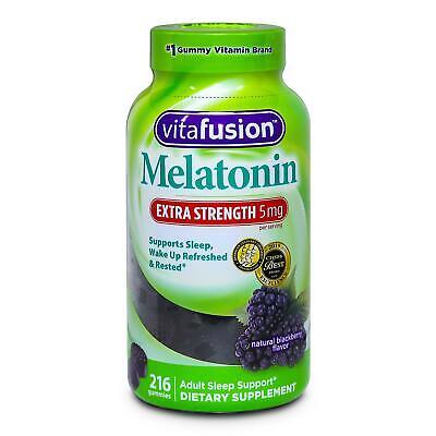 Vitafusion Extra Strength Melatonin 5 Mg Gummy Supports Sleep 216