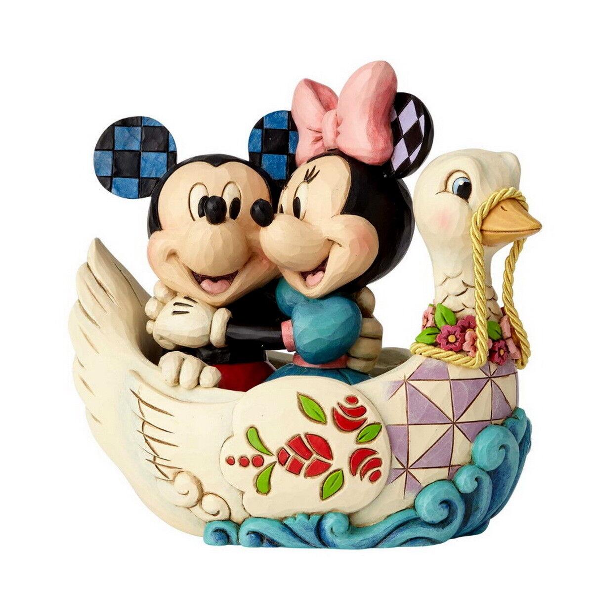 JIM SHORE Figurine 4059744 Disney Tradition MICKEY MICKEY MICKEY & MINNIE EN Swan Enesco 461544
