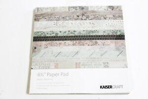 """6.5/"""" x 6.5/"""" Paper Pad Antique Bazaar KaiserCraft"""