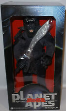 """PLANET OF THE APES : ATTAR 13"""" BOXED ACTION FIGURE MADE BY JUN PLANNING IN 2001"""