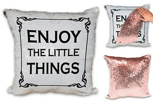 Alpacas Are Way Cooler Funny Love Sequin Reveal Magic Cushion Cover