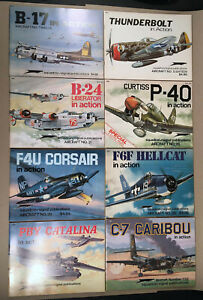 Lot-8-SQUADRON-SIGNAL-Military-Aircraft-Books-12-18-21-26-29-36-62-132