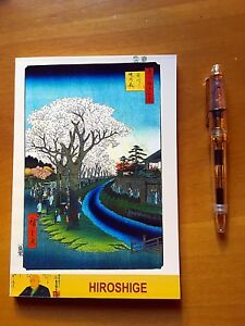 "Japanese Fountain Pen Friendly Paper 200 pages /""Thebes/"" Tomoe River Notebook"