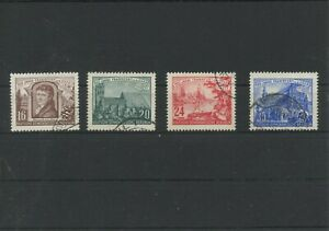 Germany-GDR-vintage-yearset-1953-Mi-358-361-Postmarked-Used-More-Sh-Shop-2