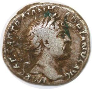 Adaptable S5921 Hadrien Denier Imp Caesar Traian - Hadrianvs Avg Silver >m Offer