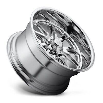One 15x8 Us Mag Indy U101 5x4.5 et1 Polished Wheel