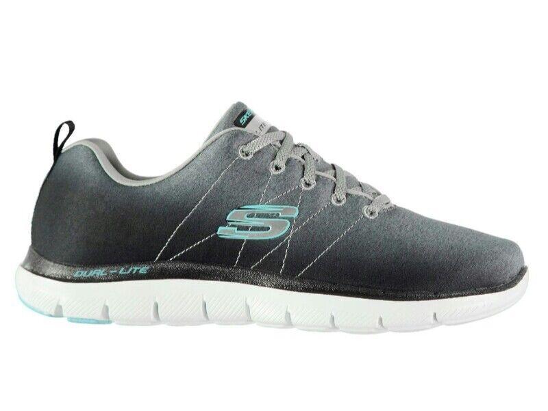 + Skechers Flex 2.0 Appeal 2.0 Flex Baskets Chaussures De Course Mousse  Mémoire Womans UK 7 97f43e10178ad